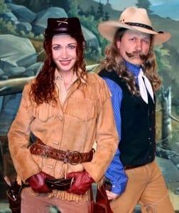 Krystal Kiene and Ryan Poole. Photo by Megan Summers.