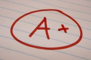 Should UTBA grade shows the way teachers grade papers? Image source.