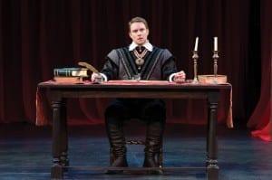 Steve Wojtas as Angelo in the Utah Shakespeare Festival's 2014 production of Measure for Measure. (Photo by Karl Hugh. Copyright Utah Shakespeare Festival 2014.)