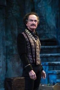 David Pichette as Malvolio in the Utah Shakespeare Festival's 2014 production of Twelfth Night. (Photo by Karl Hugh. Copyright Utah Shakespeare Festival 2014.)