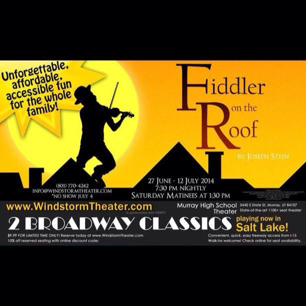 A very shaky FIDDLER ON THE ROOF from Windstorm