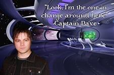 Andrew Lenz as Captain Dave.