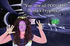 Adelle Curtis as Soola.
