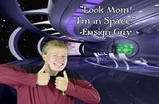 Spencer Rosenlof as Ensign Guy.
