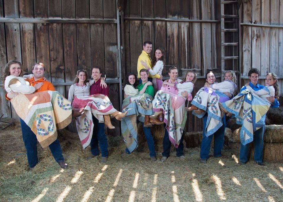 Seven Brides for Seven Brides - SCERA