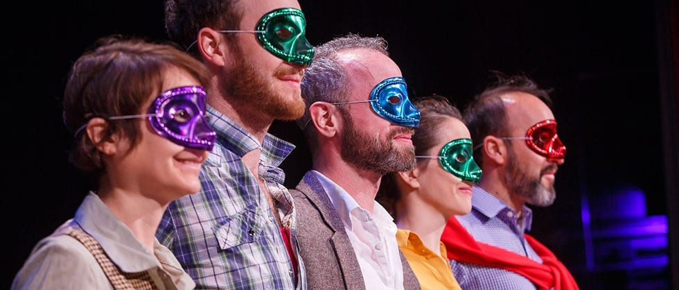 Much to love in minimalist MUCH ADO from London at BYU
