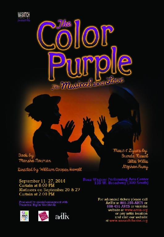 THE COLOR PURPLE is a powerful story of identity
