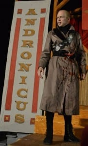 Mark Oram as Titus Andronicus.