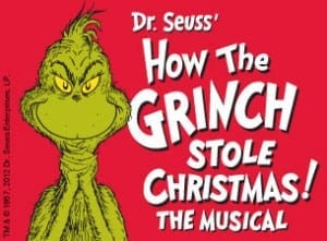How the Grinch Stole Christmas logo - National tour