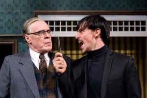 Max Robinson as Harry and Christopher Sears as Alan. Photo by Alexander Weisman.