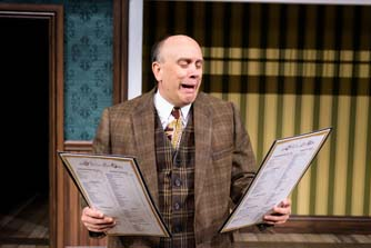 ONE MAN, TWO GUVNORS, & lots of laughs at Pioneer