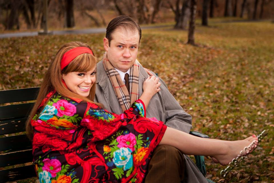 A charming and hilarious BAREFOOT IN THE PARK at the Hale