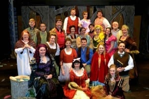 Into the Woods cast.