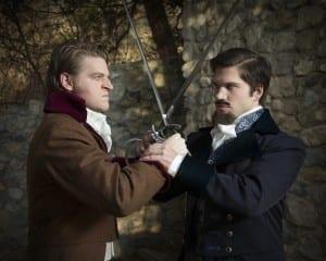 Taylor Morris as Fernand Mondego, Preston Yates as Edmund Dantes