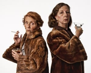 (Courtesy photo) Reb Fleming as Lillian Hellman and Barb Gandy as Mary McCarthy.