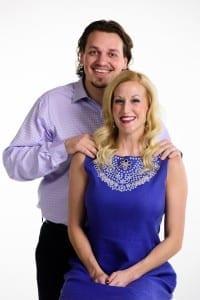 Rhett Richins and Erin Royall Carlson. Photo by Alex Weisman/IceWolf Photography