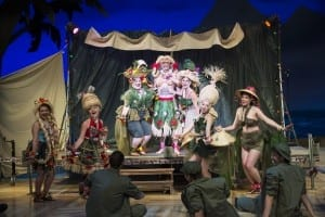 A scene from the Utah Shakespeare Festival's 2015 production of South Pacific. (Photo by Karl Hugh. Copyright Utah Shakespeare Festival 2015.)