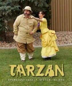 Bryan Cardoza as Porter and Shannon Eden as Jane.