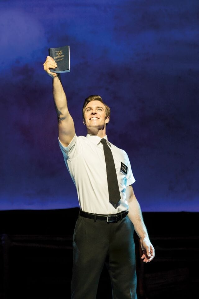"""Say """"Hello"""" to hilarious satire and surprising depth in THE BOOK OF MORMON"""