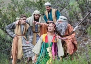 Joseph and the technicolor dreamcoat - SCERA outdoor theatre