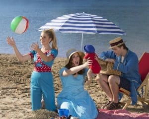 Left to right: Sierra Docken, Haley Flanders, and Danny Brown.