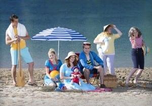 Left to right: Logan Ruesch, Sierra Docken, Haley Flanders, Danny Brown, Lauren Wilkins, and Michael Comp