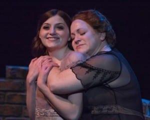 Niki Waite as Laura and Jennie Richardson as Amanda.