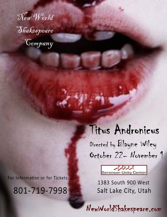 TITUS ANDRONICUS a mature, violent, and gory evening