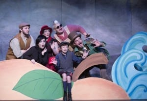 James and the Giant Peach. Scera theatre. closes November 6th. Photography by Mark A. Philbrick