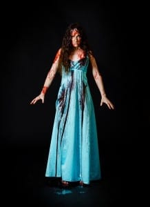 Natalia Noble as Carrie White. Photo by Jenny K Photography.