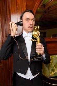 Joseph Dellger as Arthur Birling. Photo by Alexander Weisman.