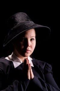 Cylie Janiece as Sister James. Photo by IceWolf Photography.