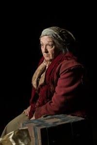 Barta Heiner as Mother Courage. Photo by Jaren Wilkey.
