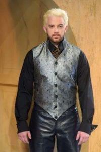 Matt Farcher as Edmund Dantes. Photo by Alexander Weisman.