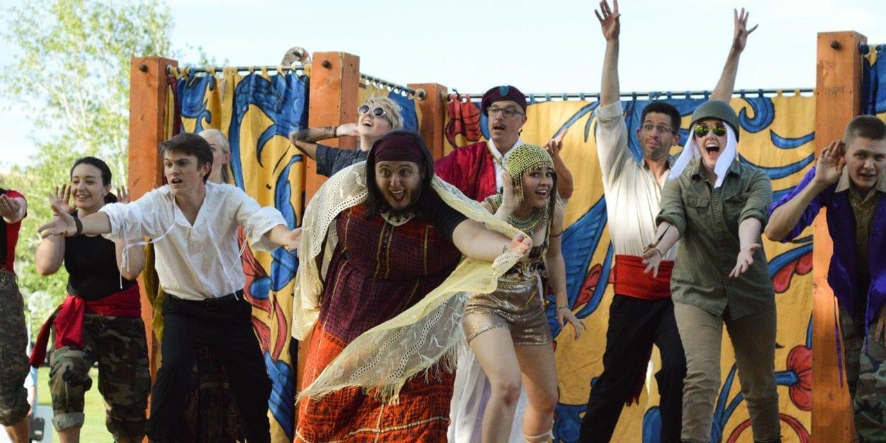 Strong cast buoys Grassroots's ANTONY & CLEOPATRA