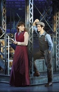 Morgan Keene as Katherine and Joey Barreiro as Jack Kelly. Photo by Deen van Meer.