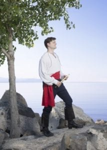 Cameron Smith as Prince Eric.
