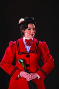 Elizabeth Broadhurst as Mary Poppins. (Photo by Karl Hugh. Copyright Utah Shakespeare Festival 2016.)
