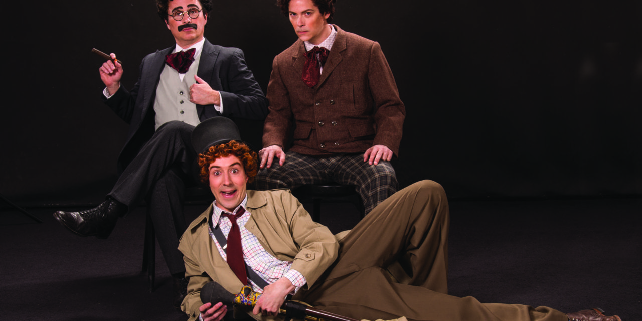 A nice & punny THE COCOANUTS at the Utah Shakespeare Fest
