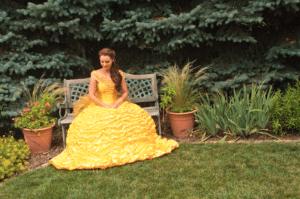 Erica Glenn as Belle.