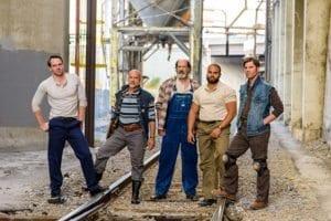 Left to Right: Bryant Martin, Lenny Daniel, Dan Sharkey, Paul-Jordan Jansen, and Cory Reed Stephens.