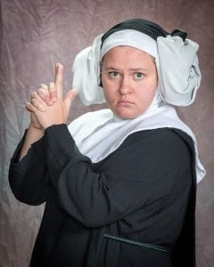 Mariah House as Sister Robert Anne