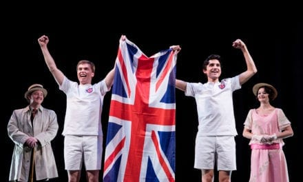 A victory lap for the U.S. premiere of CHARIOTS OF FIRE