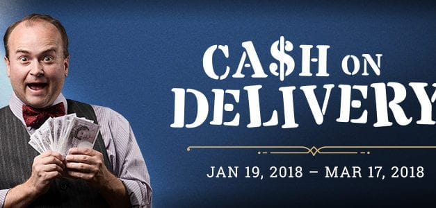 CASH ON DELIVERY charms, but has delays