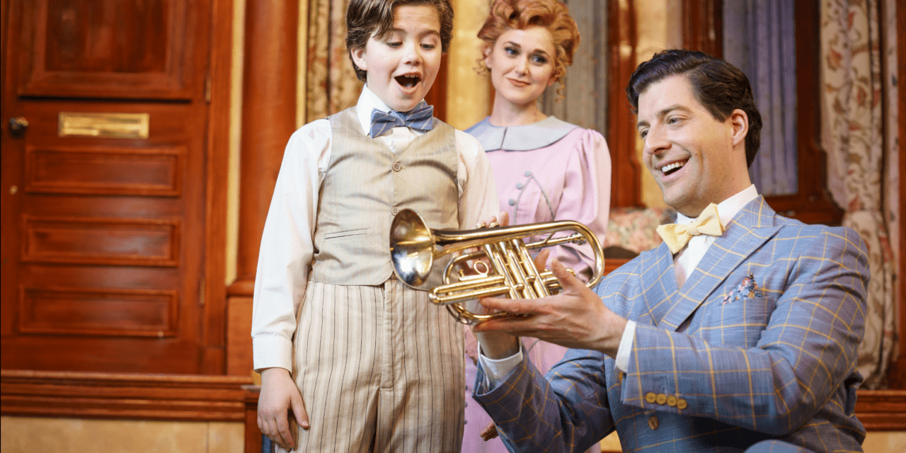 Hale's THE MUSIC MAN is slick as a traveling salesman