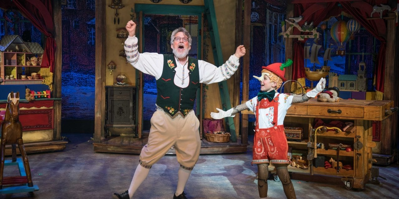 """Hale's MY SON PINOCCHIO is """"like a bolt of the blue"""""""
