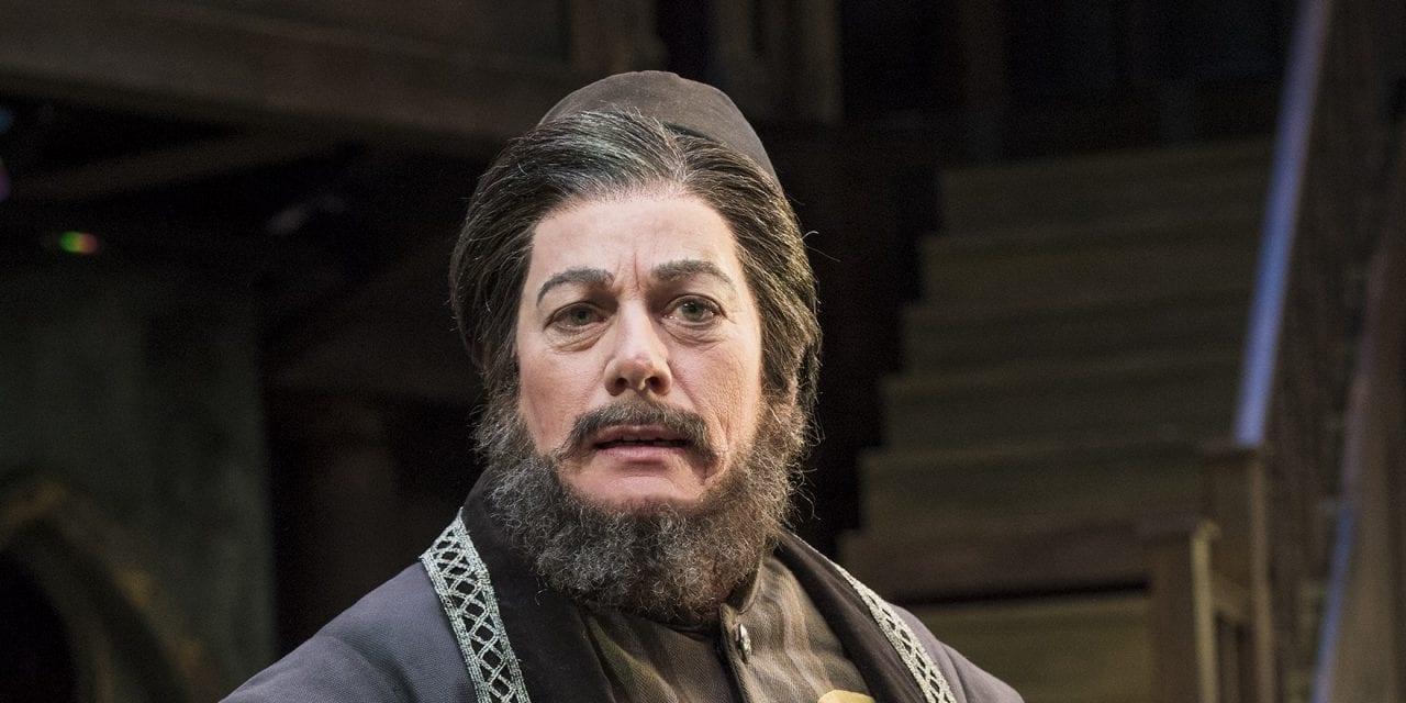 THE MERCHANT OF VENICE dictates its own terms