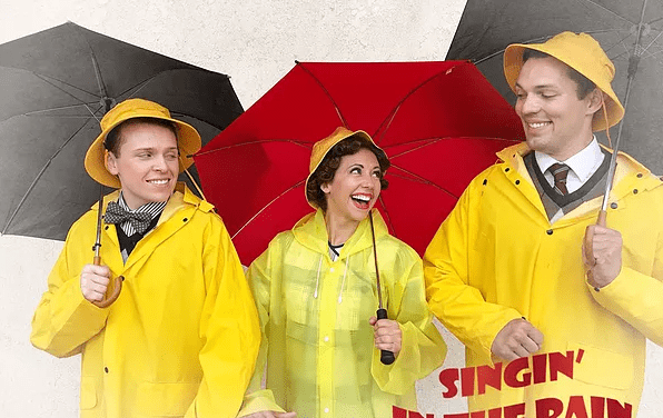"""Terrace Plaza's SINGIN' IN THE RAIN is as """"fit as a fiddle"""""""