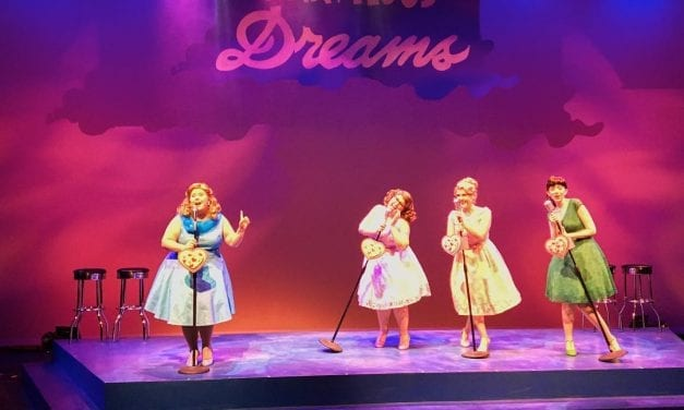 Classic songs pop in the Grand's MARVELOUS WONDERETTES