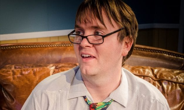 A forgettable production of THE NERD at the Covey